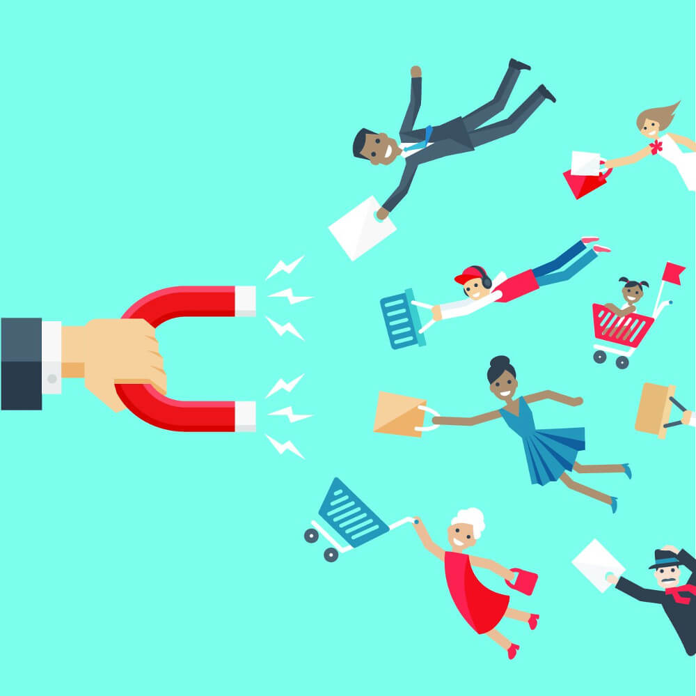 Attract new customer through Graphics