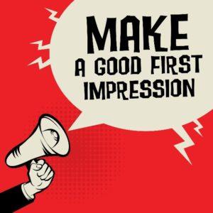First Impression through Graphic Design