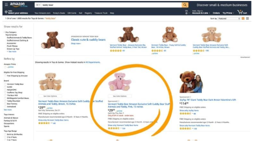Sponsered Ads in Amazon